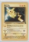 Pokemon - Pikachu Pokemon TCG Card 1999-2002 Pokemon Wizards of the Coast Exclusive Black Star Promos 4