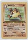 Pokemon - Primeape Pokemon TCG Card 1999 Pokemon Jungle Booster Pack Base 1st Edition 43