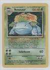 Pokemon - Venusaur Pokemon TCG Card 1999 Pokemon Base Set Booster Pack Base Unlimited 15