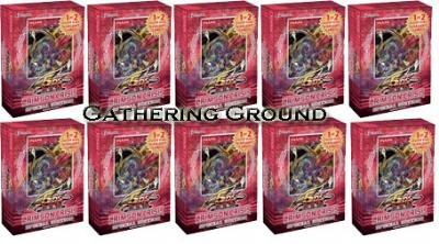 YuGiOh Trading Card Game 5Ds Crimson Crisis SE Special Edition Pack Box  10