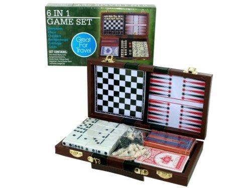 Kole Imports Travel Game Set 6 in 1