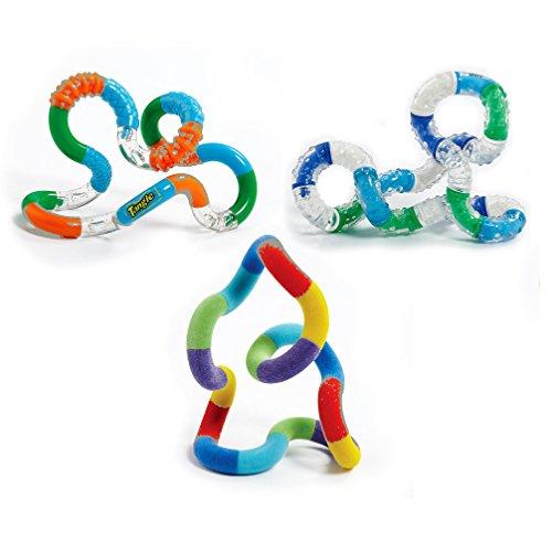 Set of 3 Tangle Jr  Original Fidget Toy Relax Fuzzyand Textured