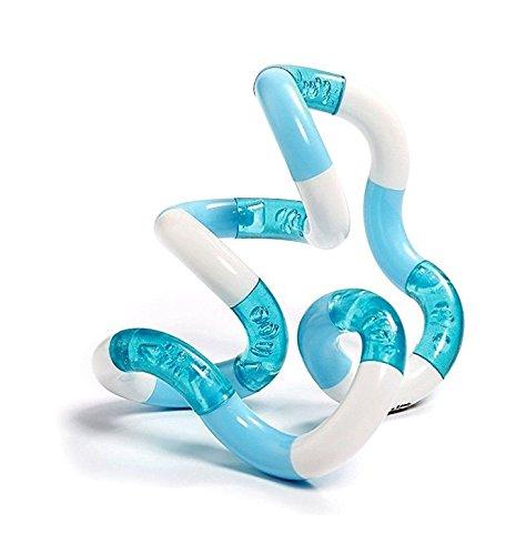 TANGLE Jr Classic Sensory Fidget Toy White Blue