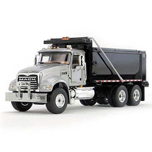 First Gear 150 scale Diecast Collectible SilverBlack Mack Granite Dump Truck 50-3355