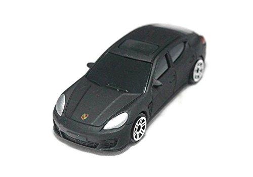 RMZ City 164 Diecast Car Porsche Panamera Turbo Metallic Black L x W x H75cm x 2cm x 3cm