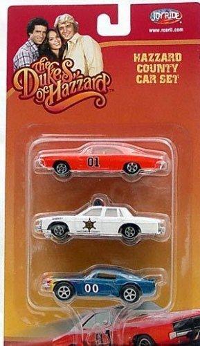 Dukes of Hazzard 3 Car Die cast 164 Model Car General Lee Set by Dukes of Hazzard