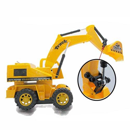 WensLTD 116 Remote Control Car Toy Car Truck Excavator Cable Remote Control Car