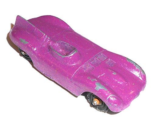 Purple 1960s Era Jaguar Roadster Tootsie Toy Diecast Sports Car