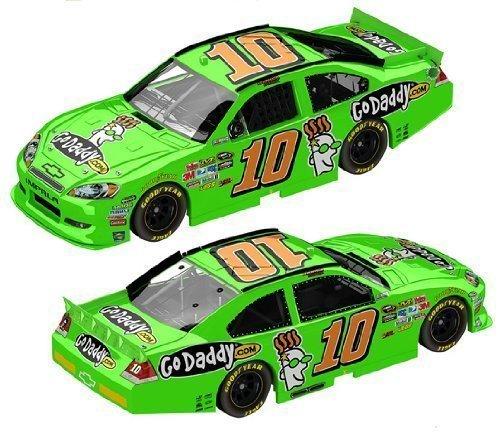 DANICA PATRICK GoDaddyCom 10 NASCAR Authentics 164 scale Diecast replica 3 age
