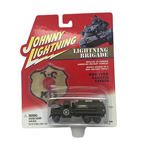 Johnny Lightning Lighting Brigade Gasoline Tanker 164 Scale Diecast Replicas
