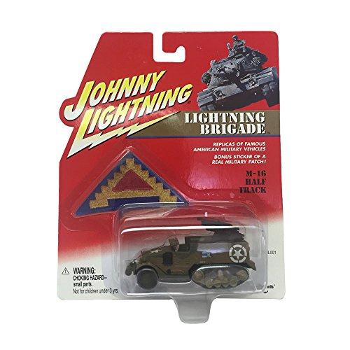 Johnny Lightning Lighting Brigade M-16 Half Track 164 Scale Diecast Replicas