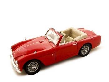 1958 Aston Martin Db24 Mark 3 Red 118 Diecast Model