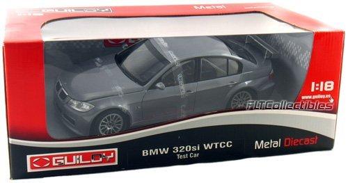 BMW 320 Si WTCC Test Car Grey 118 Diecast Model