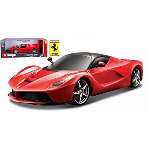 FERRARI LAFERRARI F70 RED 118 DIECAST MODEL CAR BY BBURAGO 16001