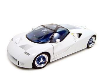 FORD GT90 WHITE 118 DIECAST MODEL