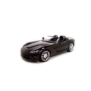 2003 Dodge Viper SRT-10 Black 124 Diecast Model Car