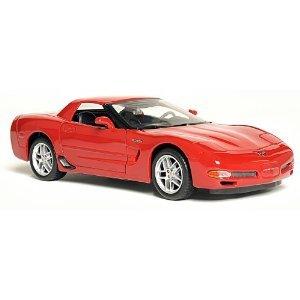 Chevrolet Corvette C5 Z06 Red 124 Diecast Model Car