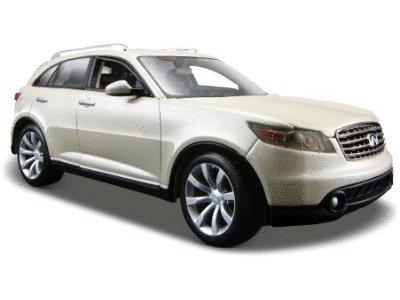 Infiniti FX45 Pearl White 124 Diecast Model Car