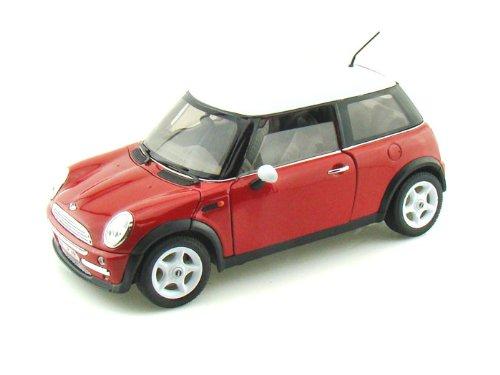 Mini Cooper Red 124 Diecast Model Car