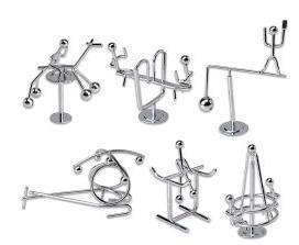 Kids Physics Balance Toys Assorted 2x Set of 6