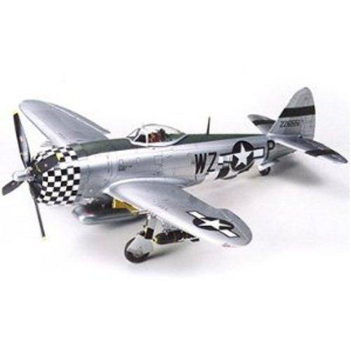 Tamiya 61090 148 P-47D Thunderbolt Bubbletop Plastic Model Airplane Kit