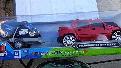 Hummer Trailer Set Official Hummer Model Truck Die-cast Fiberglass 118 Scale 2 Feet Long Toy Free Shipping
