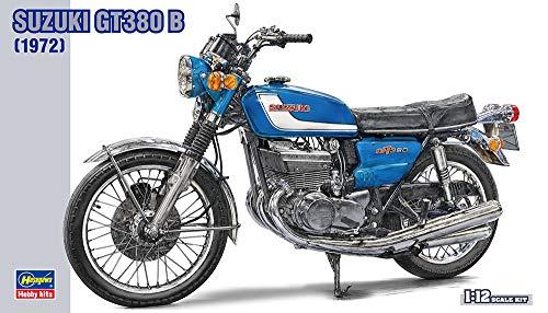 Hasegawa Suzuki GT380 B 1972 Motorcycle 112 Scale Plastic Model KitItem  21505