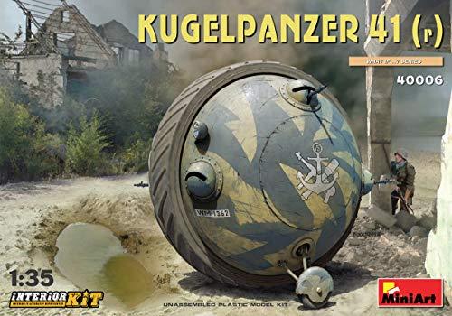 MINIART 40006 Kugelpanzer 41r Interior KIT 135 Scale Plastic Model KIT