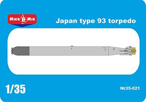 Micro-Mir 35-021 - 135 MM 35-021 Japan Type 93 Torpedo Scale Plastic Model kit