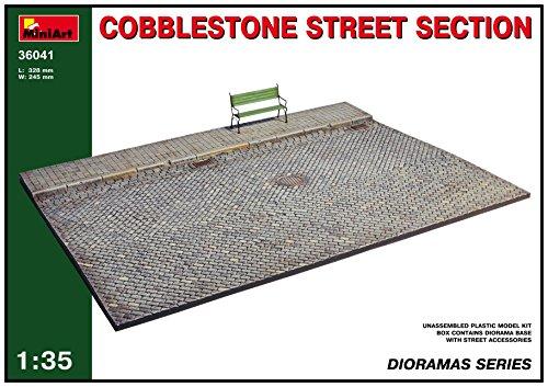 MiniArt 36041 Cobblestone Street Section Dioramas 135 Scale Plastic Model Kit