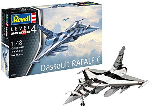Revell 03901 Dassault Rafale C 148 Scale Plastic Model kit