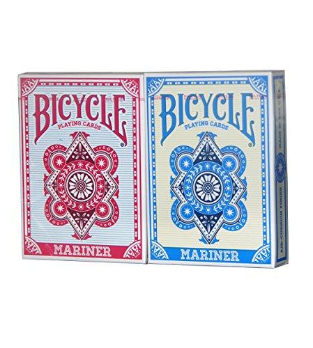 BICYCLE MARINER PLAYING CARDS 2 DECK SET