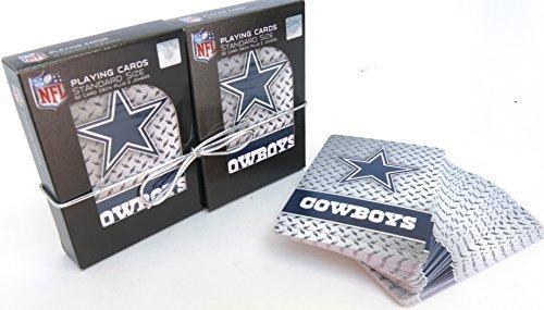 Dallas Cowboys Souvenir Playing Cards Double Deck Set