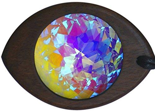 Fractalize Kaleidoscope Monocle Pendant Necklace