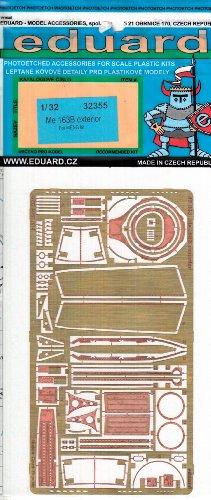 EDU32355 132 Eduard PE - Me 163B Exterior Detail Set for use with the Meng kit MODEL KIT ACCESSORY