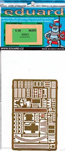 EDU36283 135 Eduard PE - M48A3 Detail Set for use with the Dragon model kit MODEL KIT ACCESSORY
