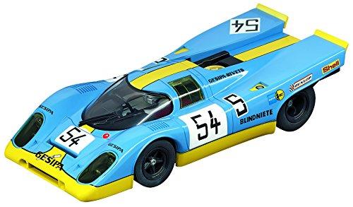 Carrera 27552 Evolution Analog Slot Car Racing Vehicle - Porsche 917K Gesipa Racing Team 54 1000km Nürburgring 1970 132 Scale