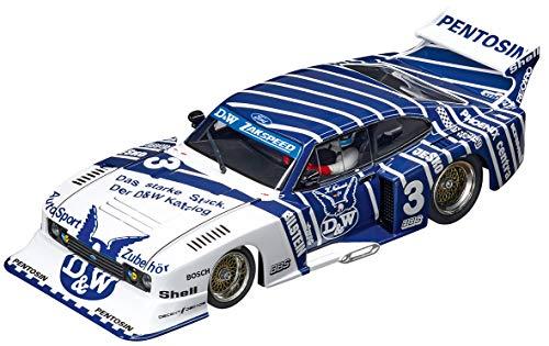 Carrera 30887 Ford Capri Zakspeed Turbo D&W 3 Digital 132 Slot Car Racing Vehicle 132 Scale