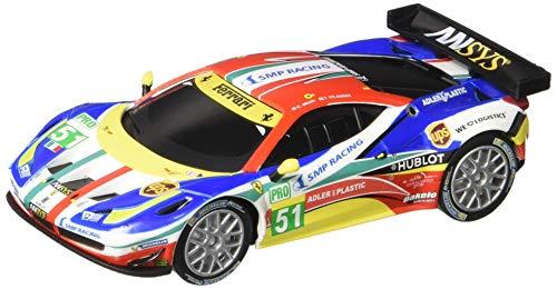 Carrera USA 20064053 64053 Ferrari 458 Italia GT2 AF Corse No51 GO Analog Slot Car Racing Vehicle 143 Scale Multicolor
