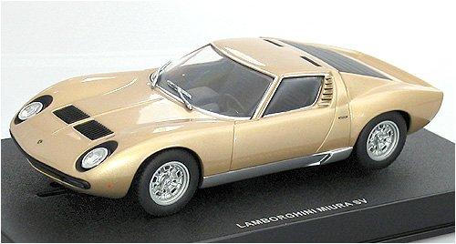 AUTOart 132 Slot Car Lamborghini Miura SV Gold 13112