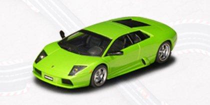 AUTOart 132 Slot Car Lamborghini Murcielago Green 13023