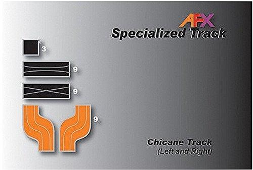 AFX Slot Track Chicane Set L&R by AFX