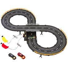 Fast Lane Speedy Racer Slot Car Track Set