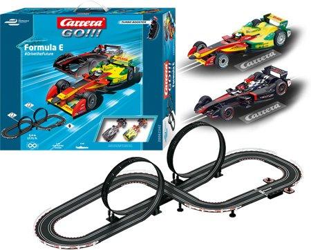 Go Racing Formula E Slot Track