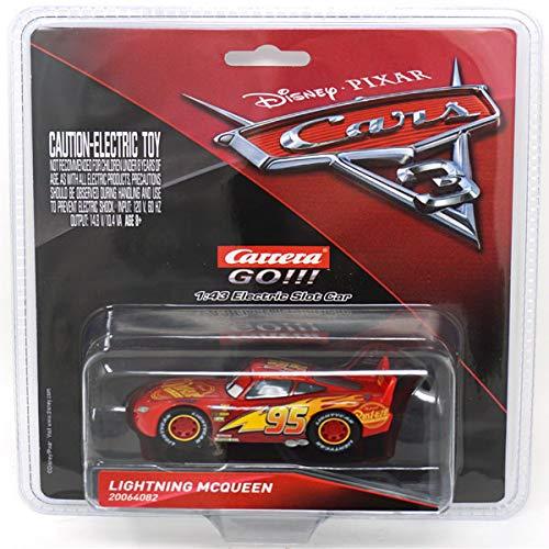 Carrera 64082 GO DisneyPixar Cars 3 Lightning McQueen Slot Car Racing Vehicle