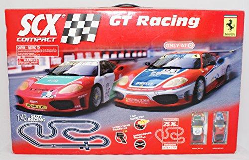 Ferrari SCX Compact GT Racing Vehicle Playset 143 Slot Racing