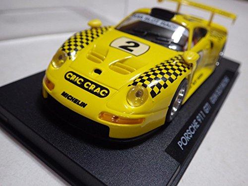 Fly Spain Yellow Porsche 911 GT1 Guia Slot Racing Plastic Slot Car 132 Nib
