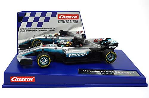 Carrera 20030840 30840 Mercedes-Benz F1 W08 L Hamilton No 44 1 32 Scale Digital 132 Slot Car Racing Vehicle Gray