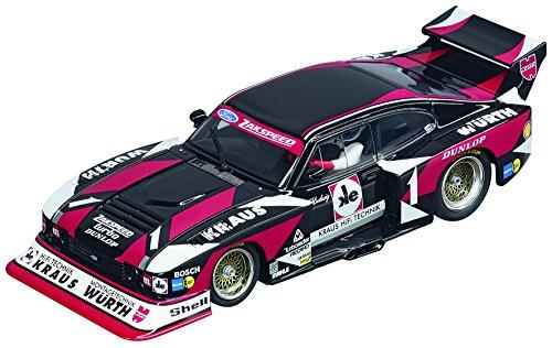 Carrera 30816 Digital 132 Slot Car Racing Vehicle - Ford Capri Zakspeed Turbo Wurth-Kraus-Zakspeed Team No01- 132 Scale