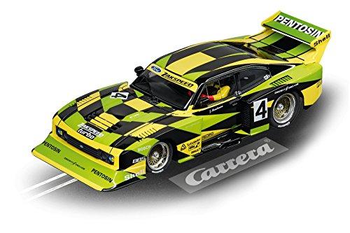 Carrera USA 20030832 Digital 132 Ford Capri Zakspeed Turbo Jürgen Hamelmann Team No 4 Slot Car Racing Vehicle Green